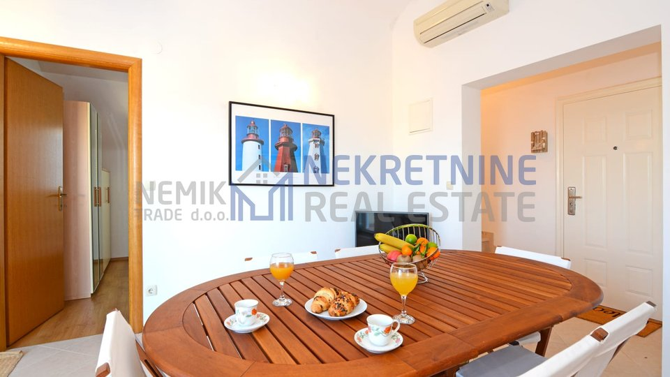 Vodice, duplex apartment with open views