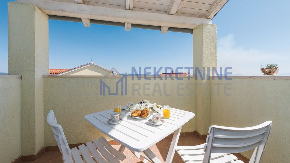 Vodice, one big  apartment with open view