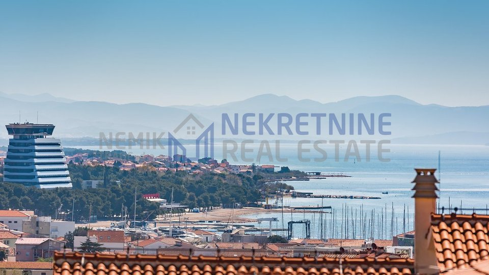 Vodice, two apartments with open views