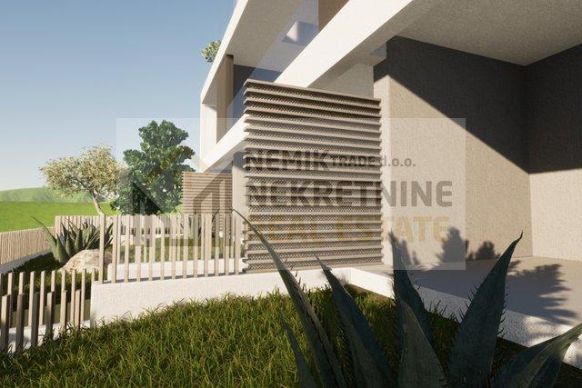 Vodice, appartamento al piano terra con giardino - nuova costruzione